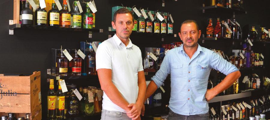 cave à rhum Liquor Shop Rennes