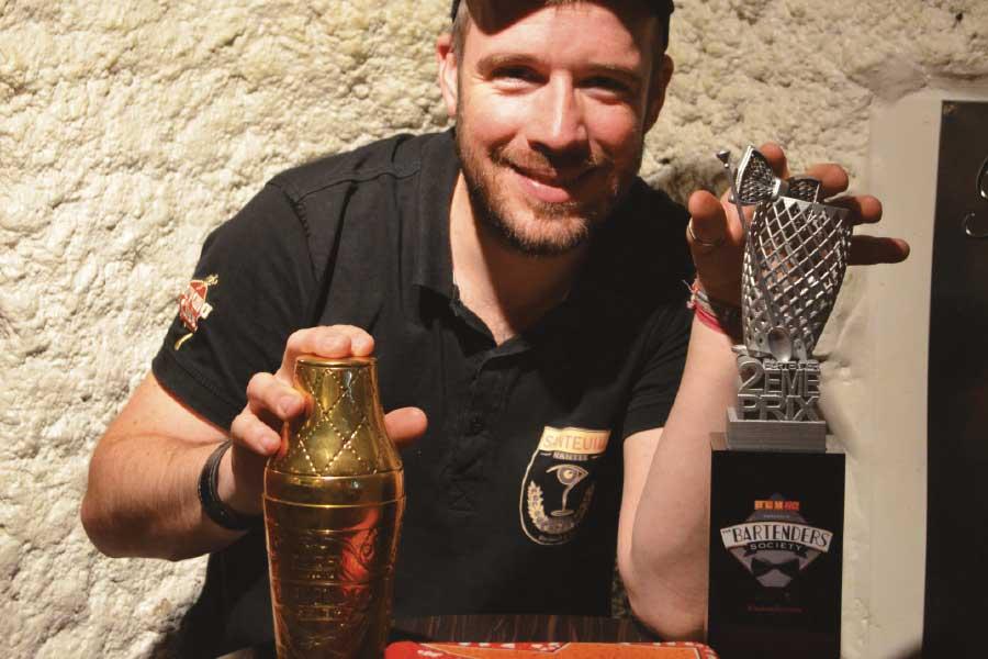 Mathieu Gouret Bartenders Society