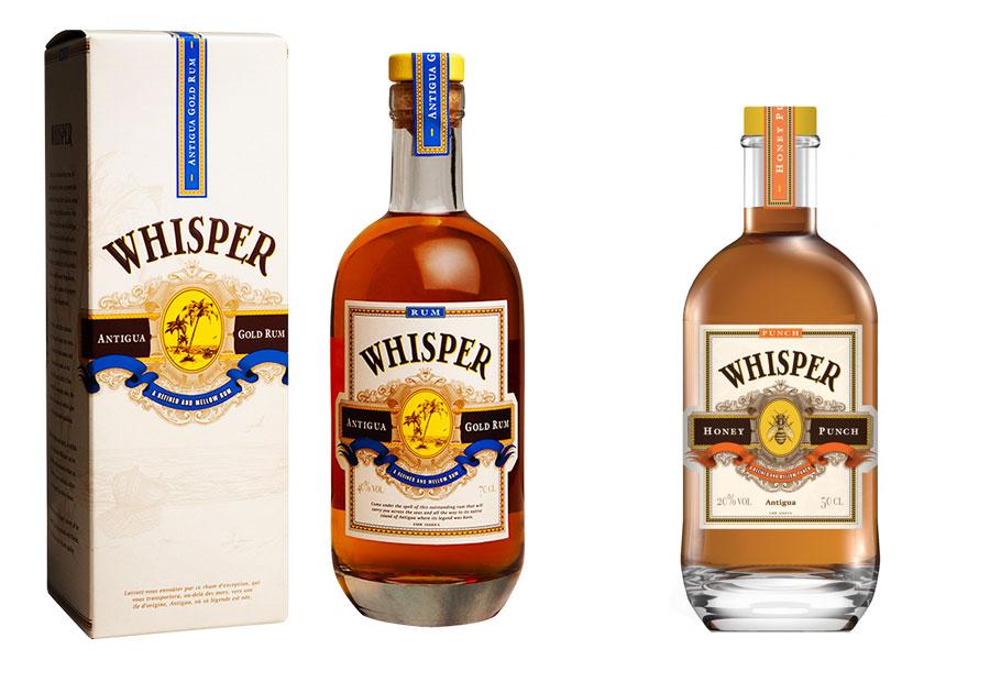 Whisper Rum Gold - Whisper Honey Punch