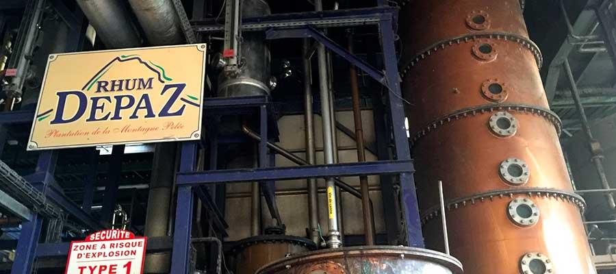 Visiter Distillerie Rhum Depaz - Martinique