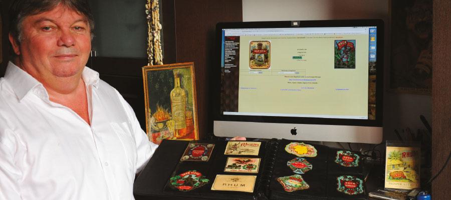 Dominique Jullien, collectionneur d'étiquettes ancienne