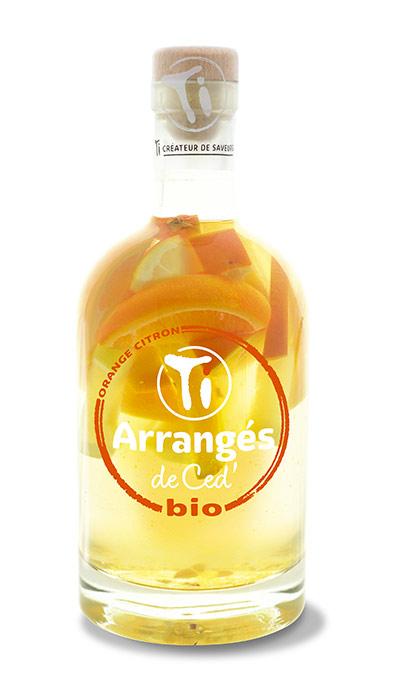 Les Rhums de ced : Orange Citron Bio