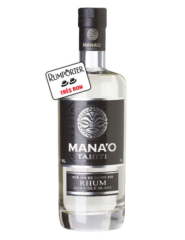 Mana'o Tahiti - Rhum Blanc Bio - 50°