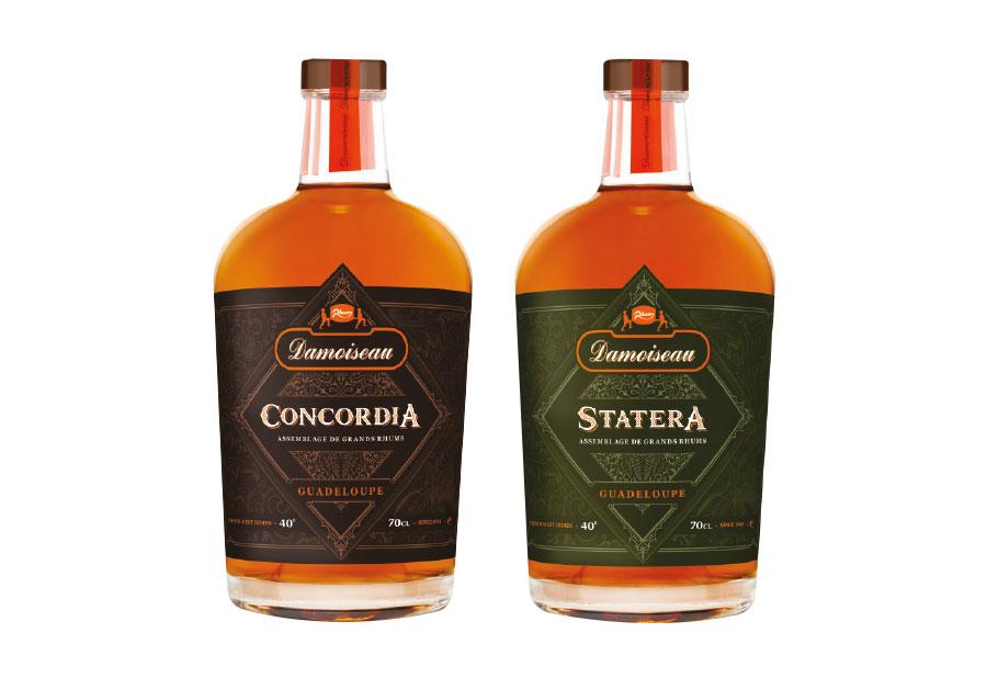 Rhums Damoiseau : Concordia et Statera