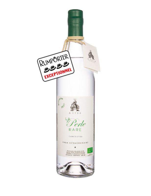 A•1710 La Perle Rare - Rhum Blanc Bio B69-566 (canne bleue) - 52°