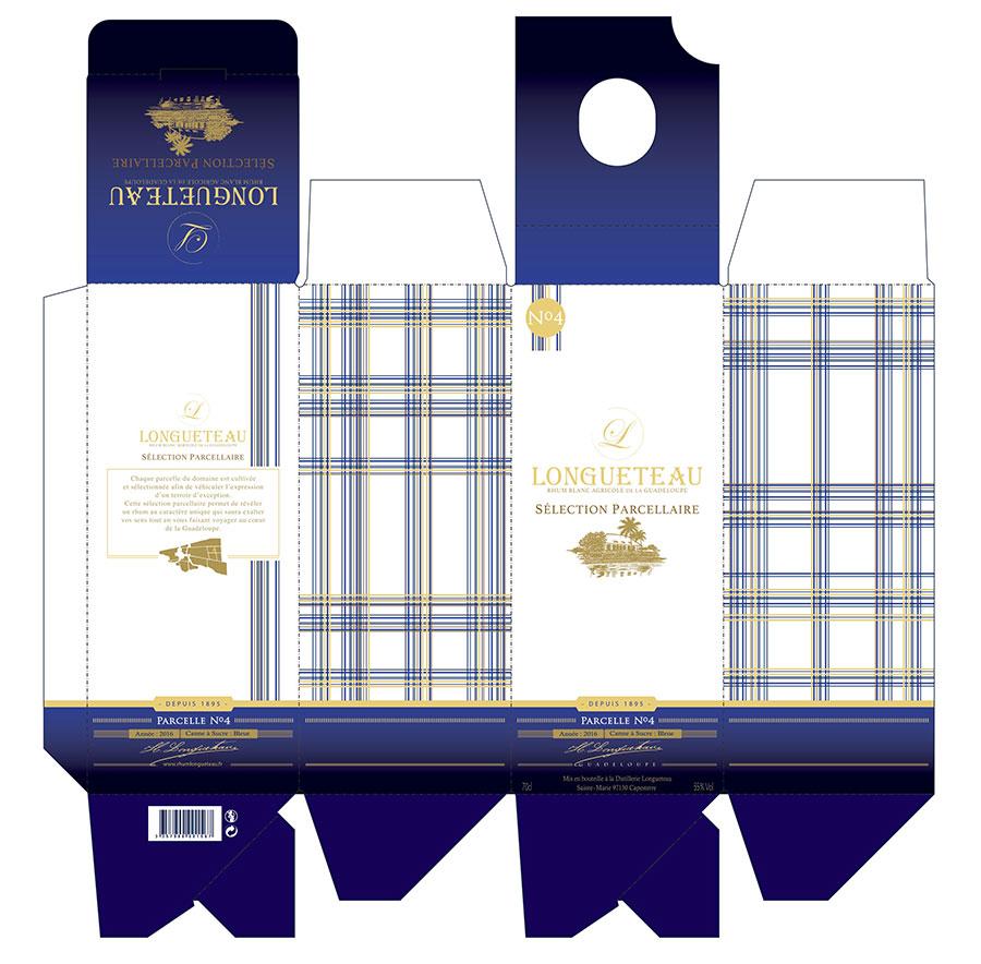Packaging Rhum Longueteau