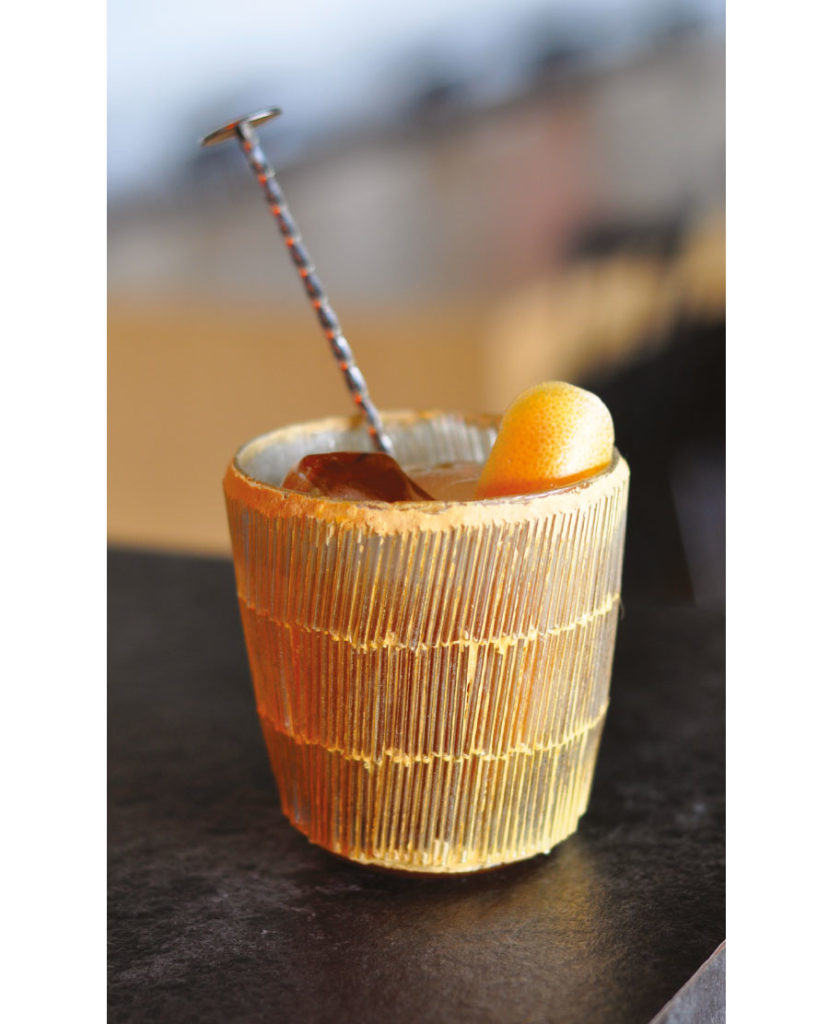 Caribbean Old Fashioned Saint James