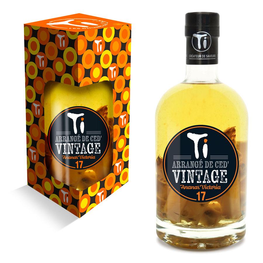 Les Rhums de Ced' - Ananas Victoria Vintage 2017