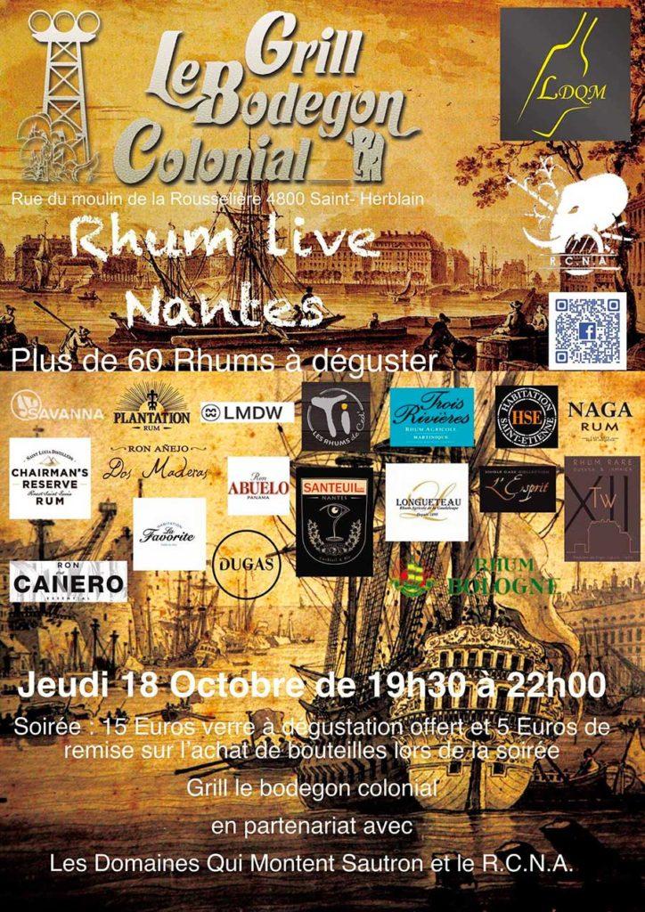 Rhum Live Nantes