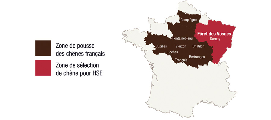 Rhum HSE -chêne français