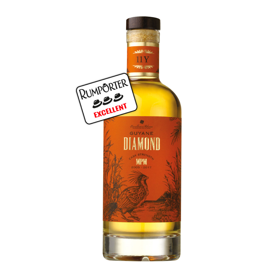 Excellence Rhum - Diamond MPM Millésime 2005