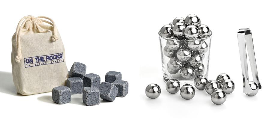 Accessoires autour du rhum : les glaçons pierre