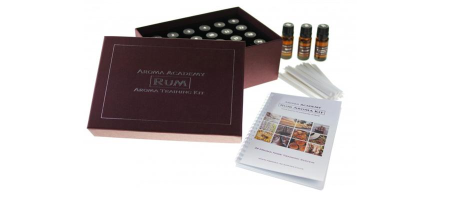 Accessoires autour du rhum : kit aromes du rhum
