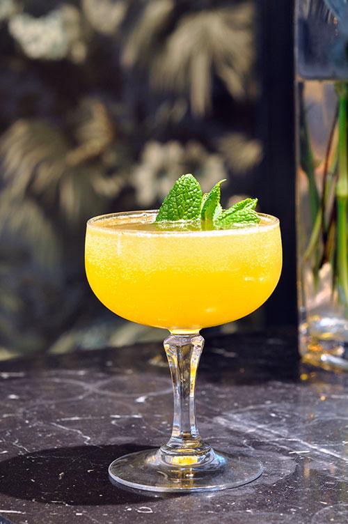 Cocktail rhum old cuban
