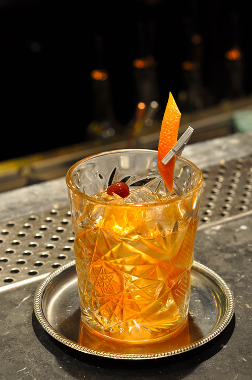 Cocktail rhum Old Fashioned