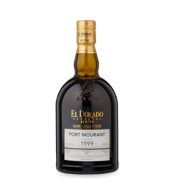 RON EL DORADO RARE COLLECTION PORT MOURANT 1999