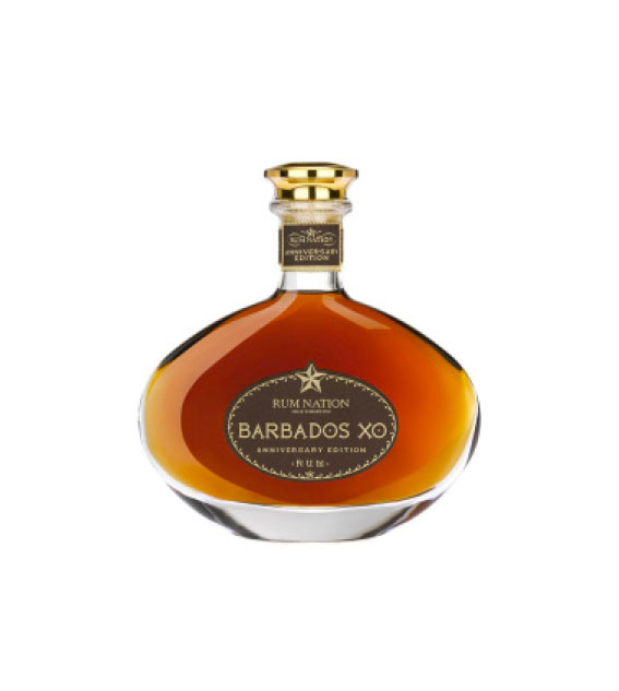 RUM NATION BARBADOS XO ANNIVERSARY DECANTER 12 AÑOS
