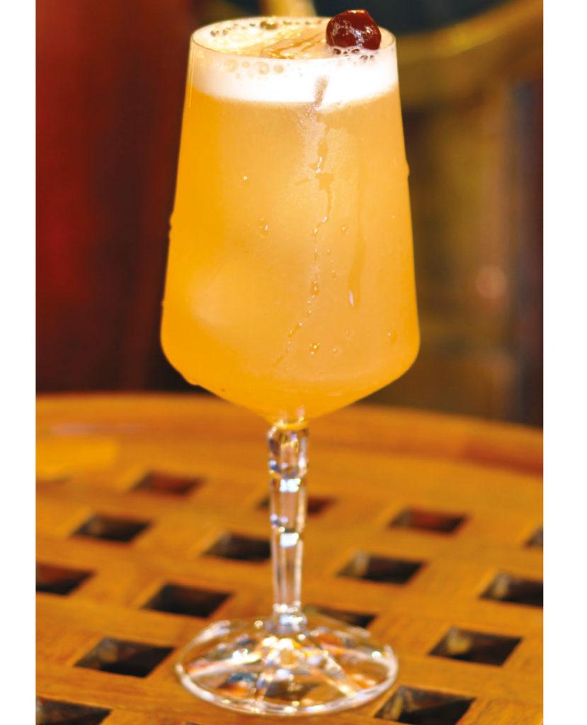 cocktail au rhum El Libertad spiced rum