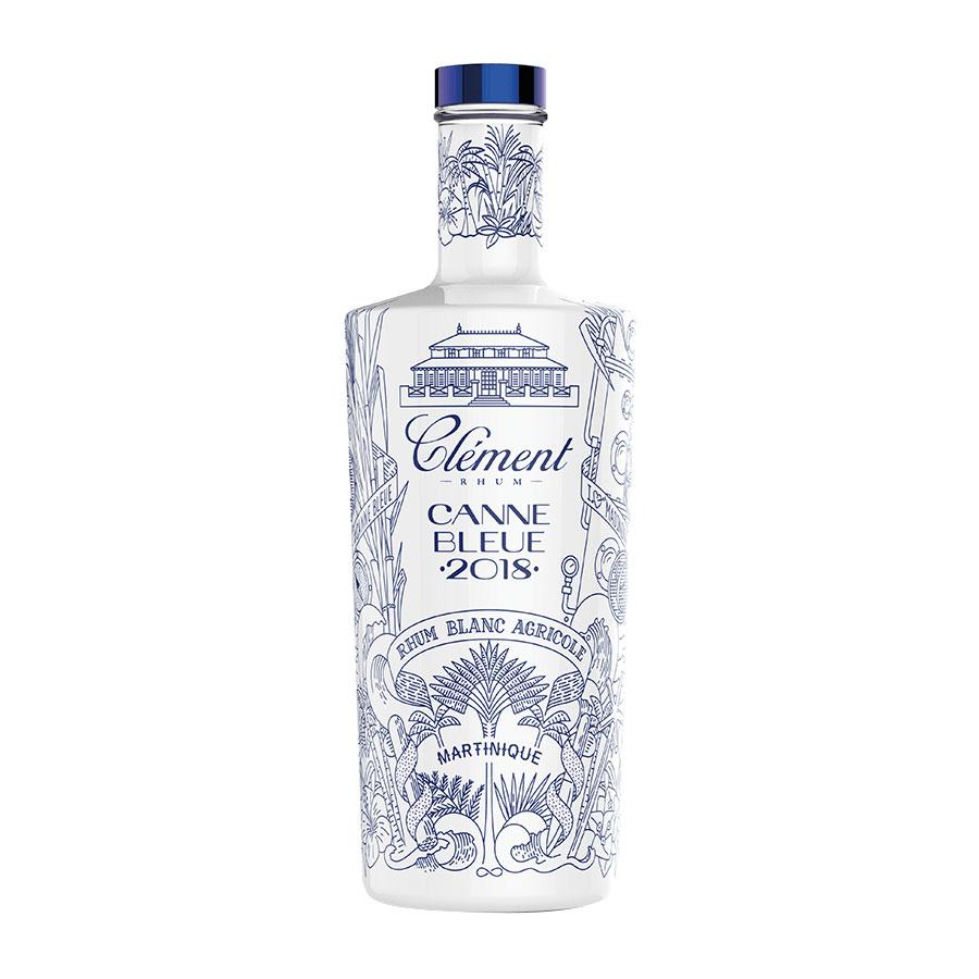 rhum Clément canne bleue 2018