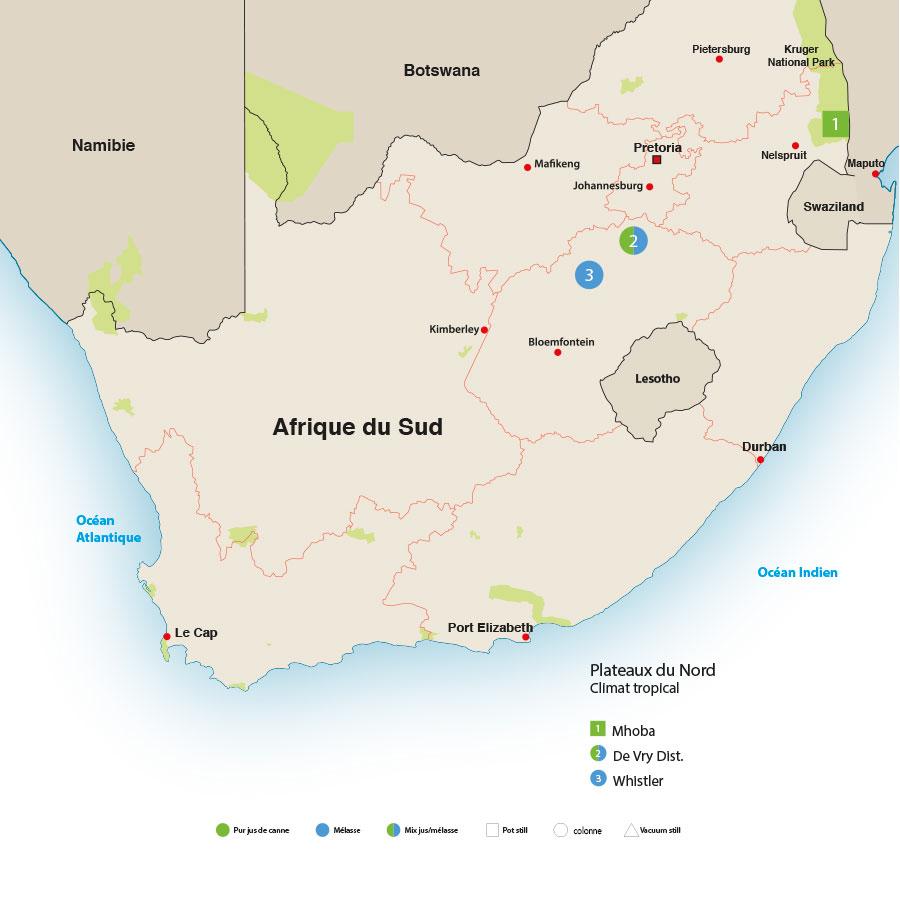 Rhum Afrique du sud