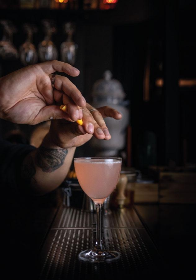 Bar 1802 de l'hôtel Monte-Cristo