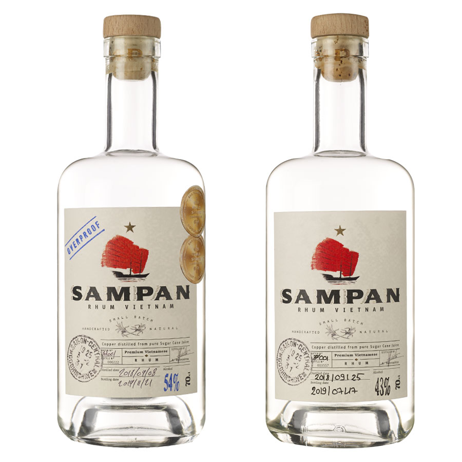 Sampan Rhum du Vietnam