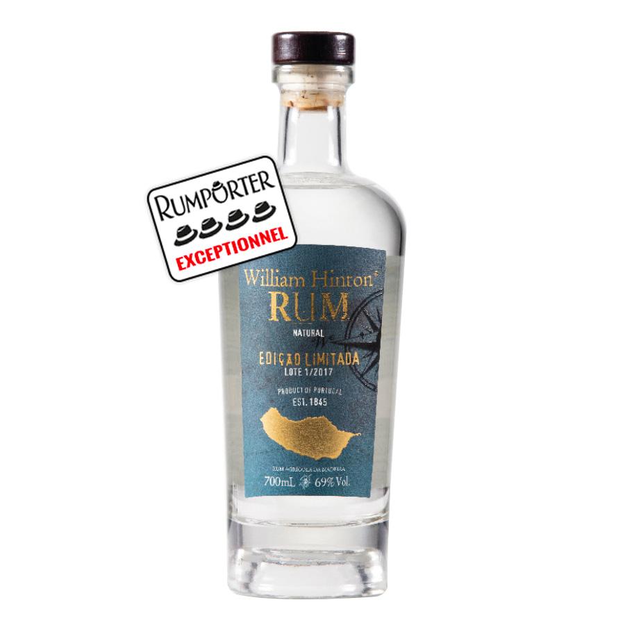 William Hinton Rhum Blanc, édition Limitée, fermentation naturelle - 69°