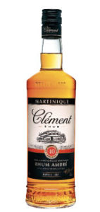 rhum Clément ambré