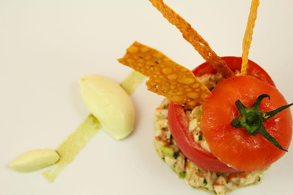 recette tomate crevette
