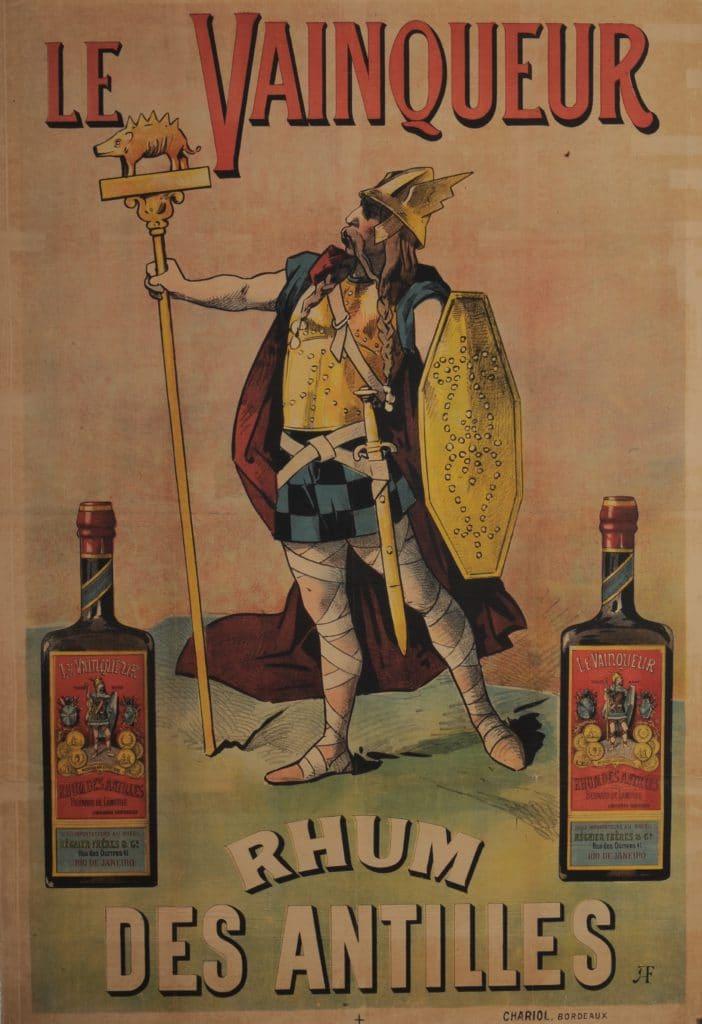 le Vainqueur -Rhum des Antilles)