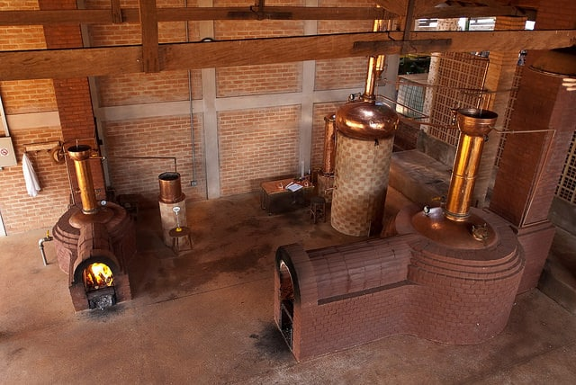 La distillerie Engenho Pequeno