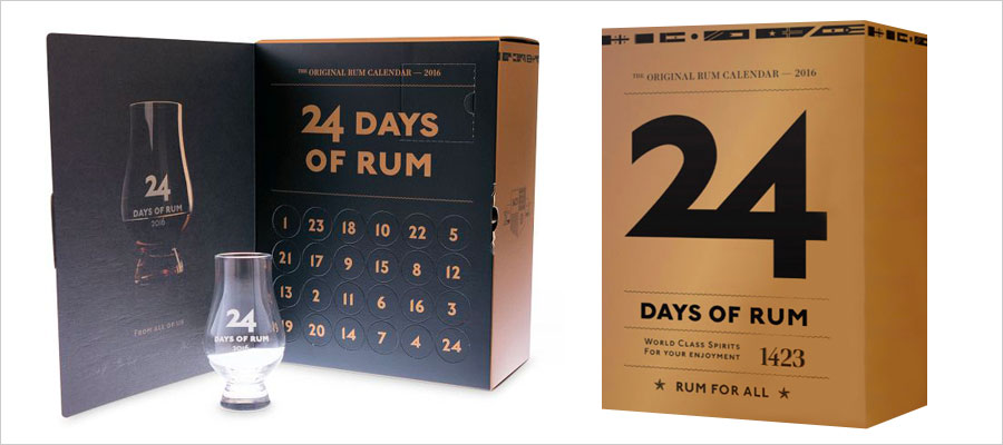 le calendrier de l 39 avent sp cial rhum rumporter. Black Bedroom Furniture Sets. Home Design Ideas