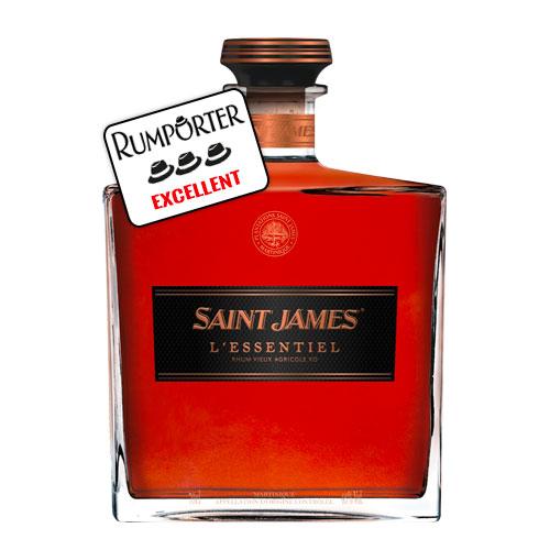 Saint James Cuvée L'essentiel, XO – Millésimes 1998, 2000, 2003