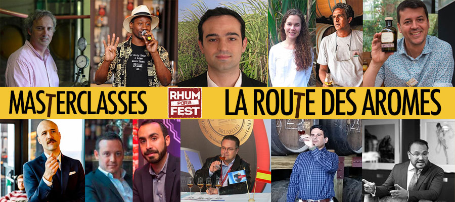 Rhum Fest Paris : le programme complet des Masterclasses