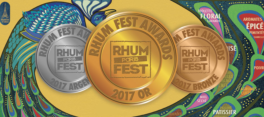 Rhum Fest awards 2017
