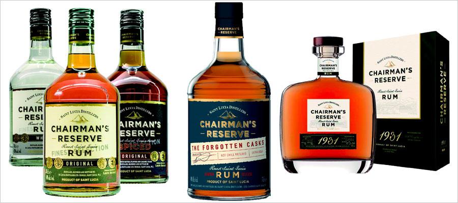 Chairman's Reserve : nouveaux packagings et nouvelle référence