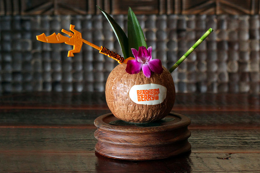 Beachbum Berry Remixed cocktail tiki