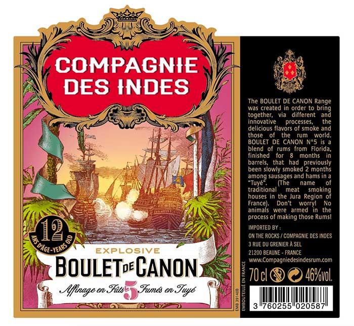 Compagnies des Indes - Boulet de canon V. 12 ans