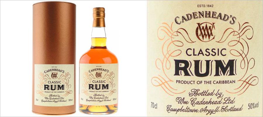 Cadenhead's rum