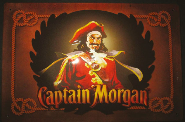 Spiced rum captain morgan
