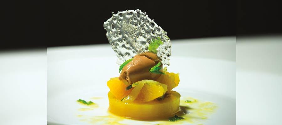 Recette à base de Rhum : Déclinaison d'oranges au Damoiseau 8 ans