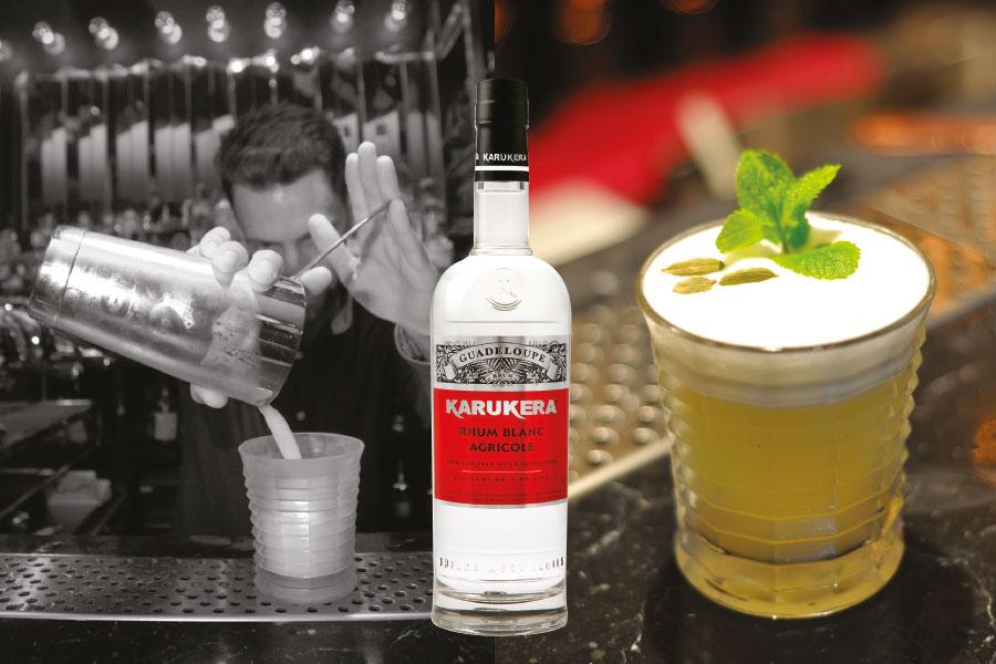 Recette de cocktail au rhum Karukera