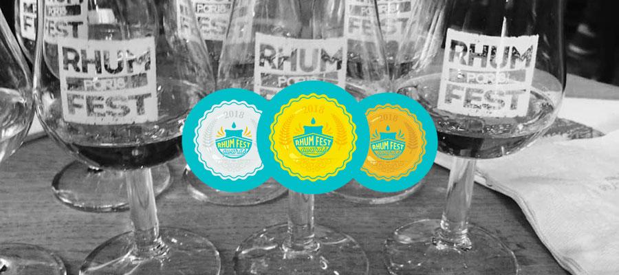 Les résultats des Rhums Fest Awards 2018