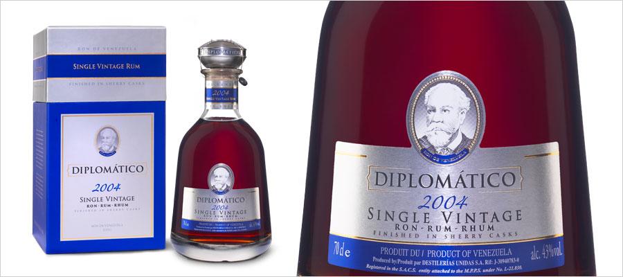 Diplomático : une nouvelle cuvée Single Vintage