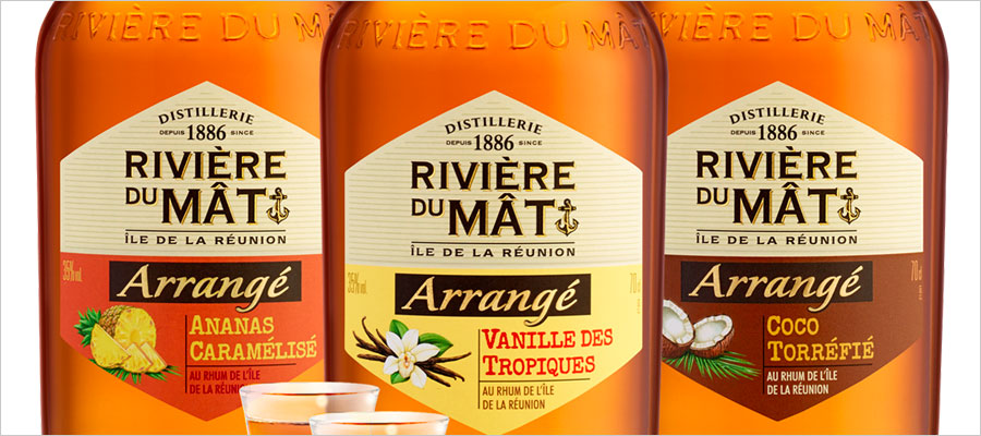 Rivière du Mât : une nouvelle gamme de rhums arrangés