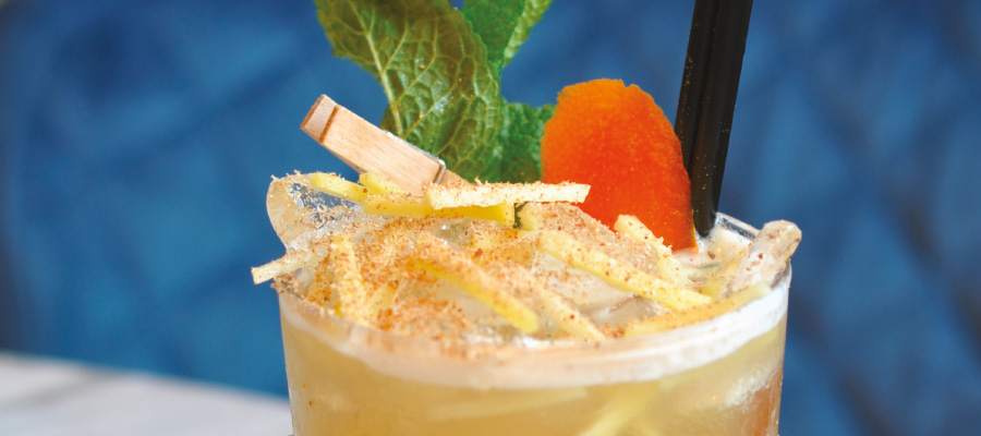 Recette de Cocktail : Mai Spice (Twist du Mai Tai) au Chairman's Spiced