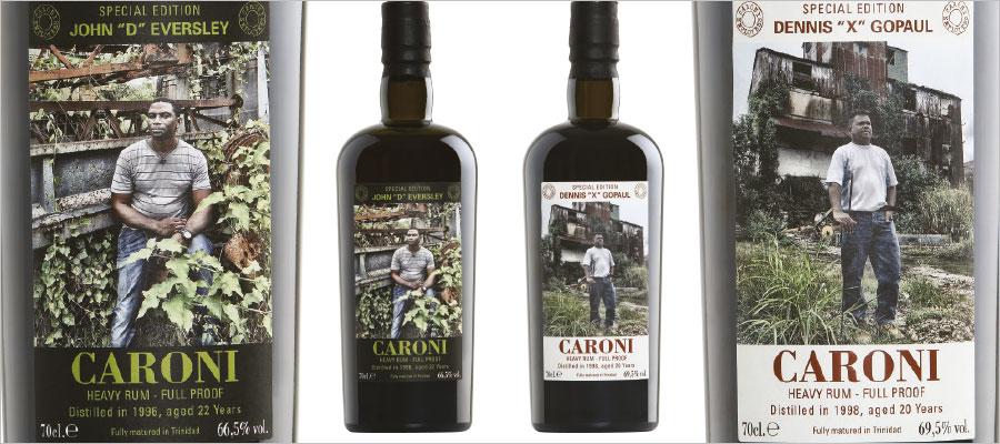 Velier-Caroni Employees : Dennis & John sont dans une bouteille, non il n'y a pas d'eau