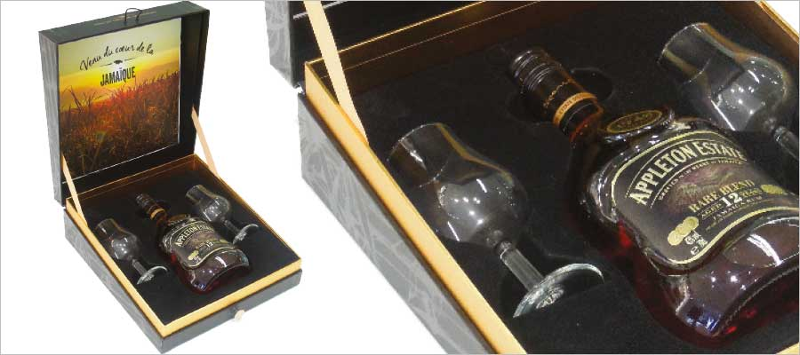 Appleton vendu Prêt à déguster -et à boire!-