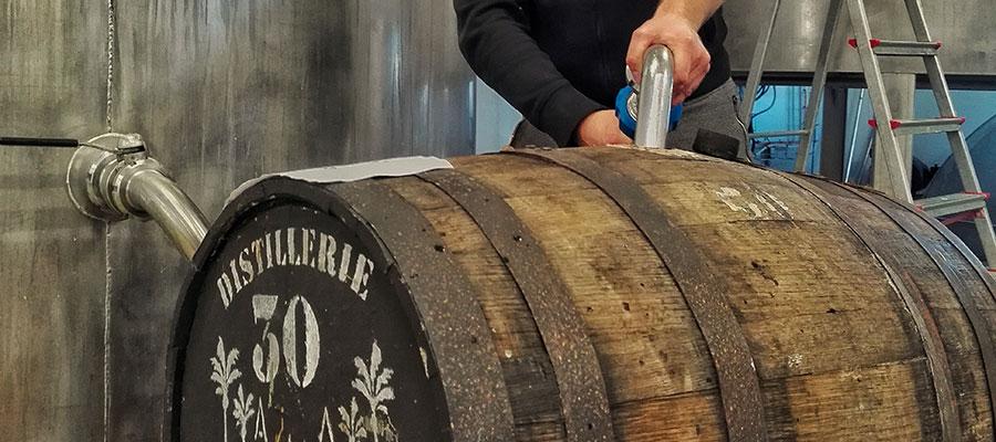 """La Piratix """"s'élève"""" avec des fûts en provenance de la distillerie Foursquare"""