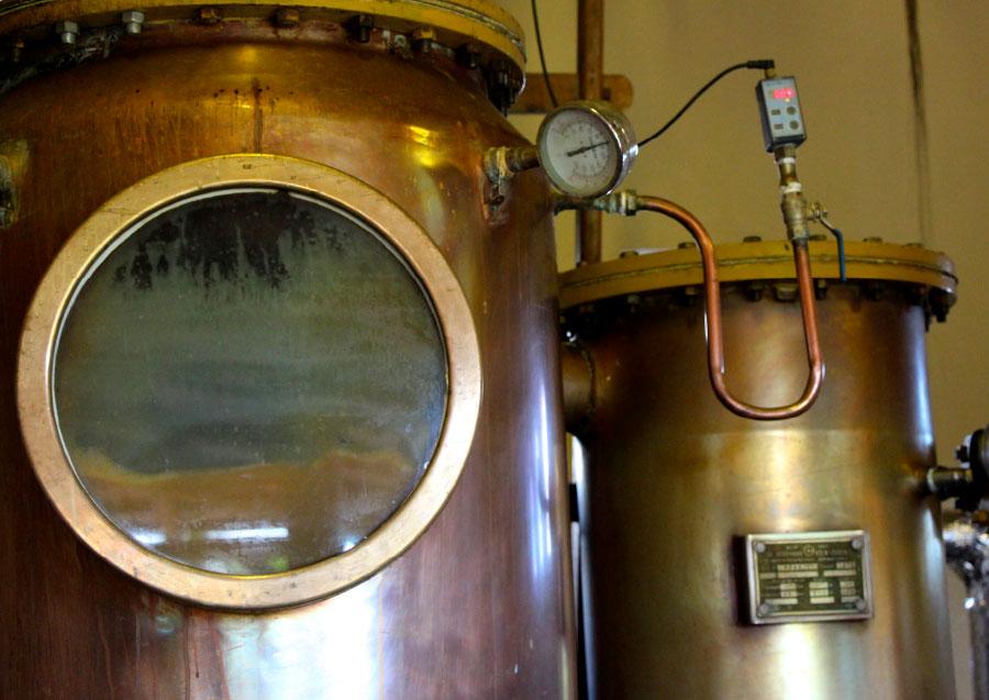 Algunos principios de destilación